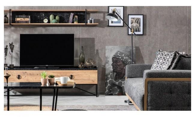 Loft Metal Tv Bench