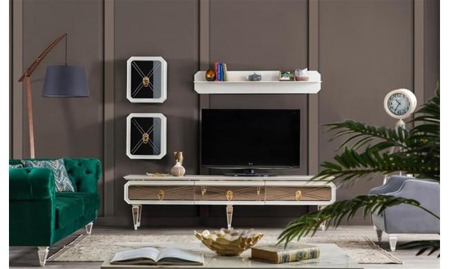 Bronwen White Tv Bench